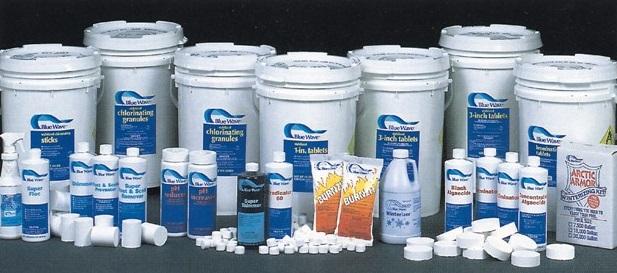 hoá chất xử lý nước bể bơi