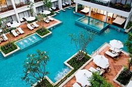 Chiêm ngưỡng top 3 hồ bơi độc lạ nhất xứ Chùa Vàng