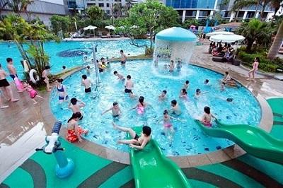 Khử trùng nước bể bơi